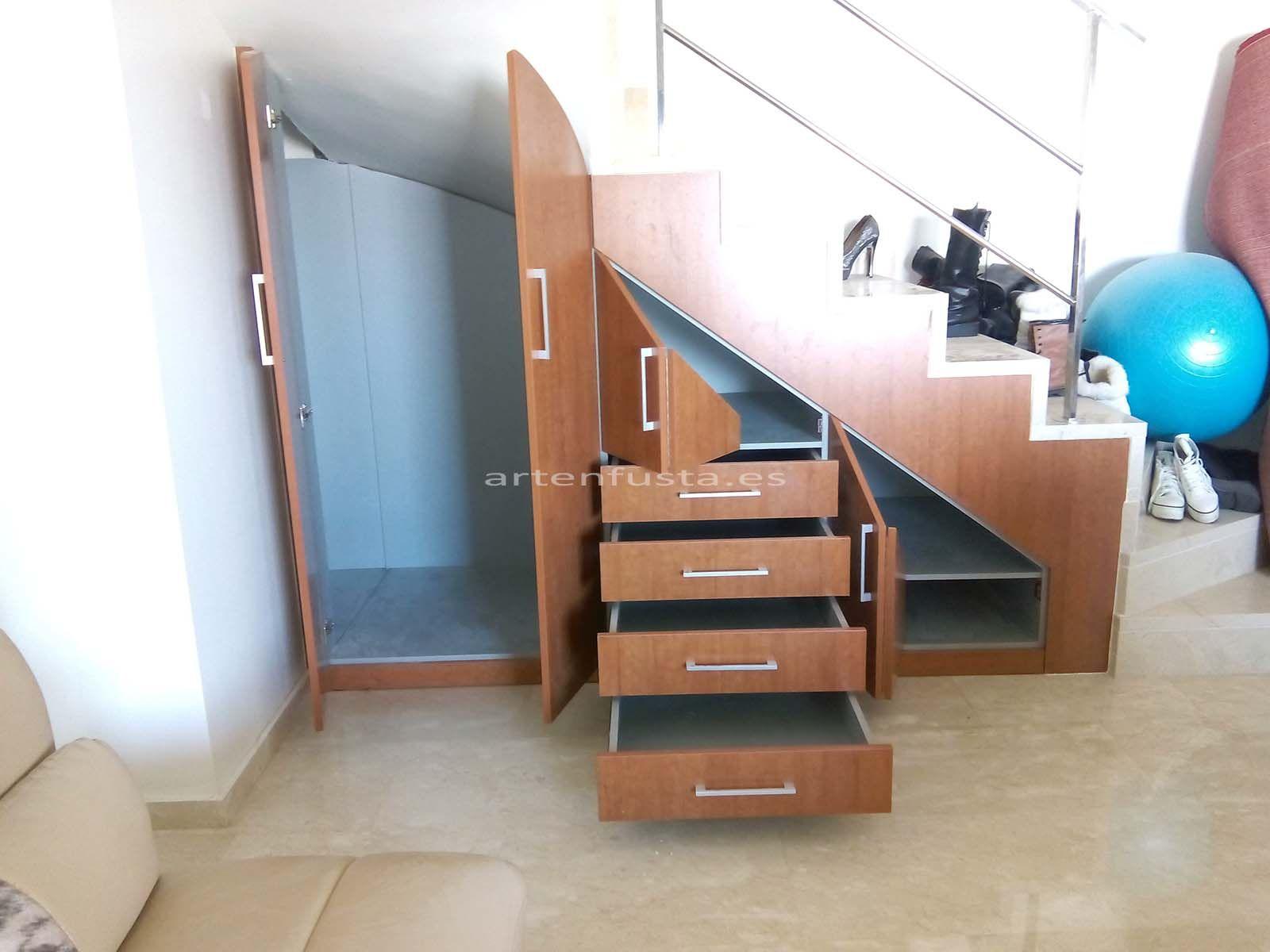 mueble bajo de escalera a medida On muebles bajo escalera