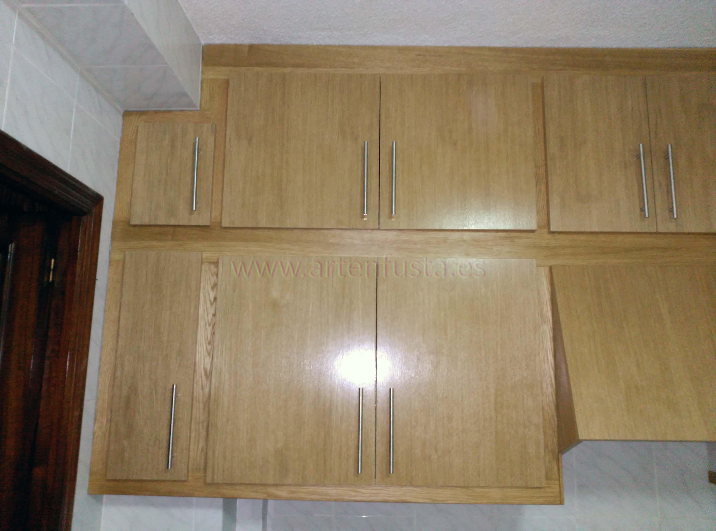 Lujoso Muebles De Cocina Roble Miel Elaboración - Como Decorar la ...